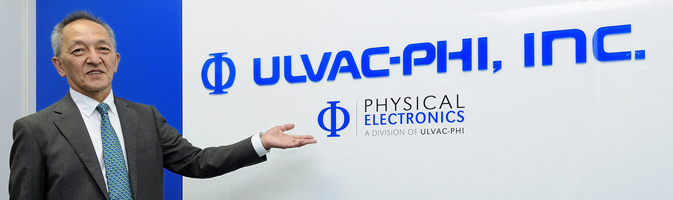 Message from the President of ULVAC-PHI